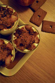 Tiramisu Pommes caramélisées Speculoos