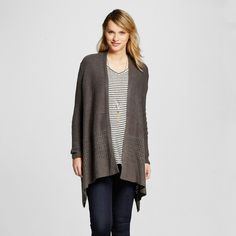 Black Waterfall Cardigan | Products, Cardigans and Waterfalls