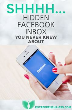 Hidden Inbox on Facebook - Find messages in less than 30 seconds on your mobile!   Amazing trick allowed me to find messages dated back to 2009! #facebook #socialmedia #mobile #entrepreneur #womeninbusiness http://entrepreneur-ess.com/hidden-facebook-inbox-you-never-knew-existed/
