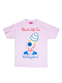 $16 - Mishka Soft Tees T-Shirt (Pink)