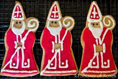 Shower of Roses: The Baker's Dozen :: A Saint Nicholas Tale and Baking Cookies for the Feast!