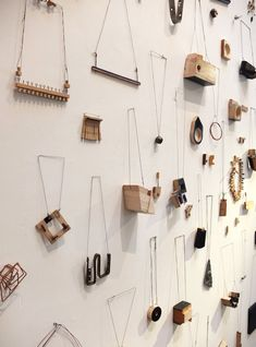 The installation by Stockholm-based jewelry collective Adam Grinovich, Romina Fuentes, and Annika Pettersson.