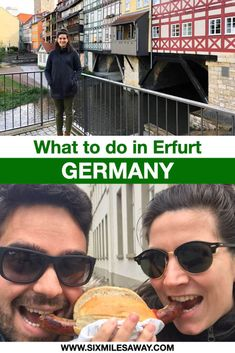 The 16 most famous sights in Erfurt - the Medieval City in East Germany Travel Guides, Travel Tips, Responsible Travel, East Germany, Germany Travel, Medieval, City, Erfurt, Travel Advice