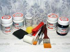 Pentart - primer gesso a primer pasta Health Facts, Annie Sloan, Measuring Spoons, Master Class, Decoupage, Stencils, Painting, Vintage, Diy Primer