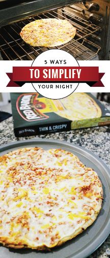 Sometimes, with busy schedules and after-school activities, it seems like family-time can fall to the wayside. Well, not anymore! This collection of 5 Ways to Simplify Your Night features practical tips for making the most of your day—including an easy and delicious meal idea featuring Red Baron pizzas. So gather the family and pick up the ingredients you need at your local Kroger store!