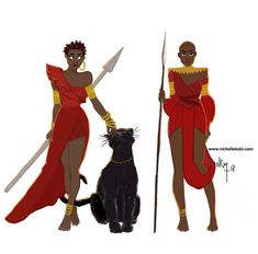 I saw the new Black Panther movie just today ! And I love it ! I am not a fan of super heroes generally but this one is just a must to see ! The message behind this movie is just full of hope for the black world . It remind me how important our ancestors are and how stronger we are together . I want to be a warrior like Okoye and Nakia ... if I can choose  If you did not se it yet you have to ... #nichollekobi