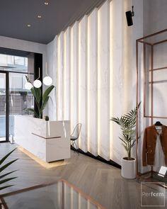 Medical Office Decor, Dental Office Design, Modern Office Design, Office Reception Design, Showroom Interior Design, Lobby Interior, Boutique Interior, Shop Interiors, Office Interiors