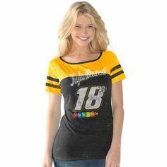 Kyle Busch Ladies Tri-Blend Slim Fit T-Shirt