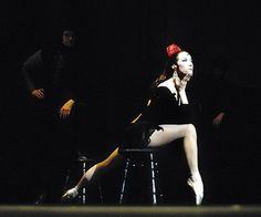 """Maya Plisetskaya in  """"Carmen-Suite"""""""