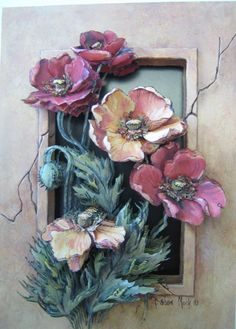 1 million+ Stunning Free Images to Use Anywhere Clay Wall Art, 3d Wall Art, Mural Art, Clay Art, Art Floral, Decoupage Vintage, Decoupage Paper, Ceramic Flowers, Clay Flowers
