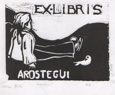 Ex-Libris Arostegui by ~surrealpoldo