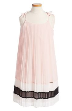 a9ac74f7147 Marciano Chiffon Pleated Dress (Big Girls) available at  Nordstrom Flower Girl  Dresses