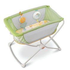Rock n Play Portable Bassinet. WHEN BUYING BABY GEAR, CHECK OUT YOUR LOCAL RESALE SHOPS. I HAVE FOUND LOTS OF GREAT STUFF AT 50% OR MORE OFF RETAIL PRICES.