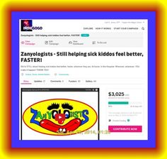 Over $3,000! Thank you for helping us help sick kiddos feel better, faster!