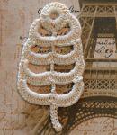 Irish Crochet Pattern – Padded Leaf Motif | Crochet Thread