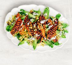 Griddled Chicken & Corn On The Cob Salad Recipe on Yummly. @yummly #recipe