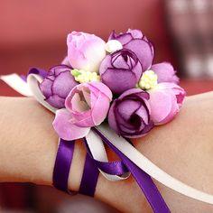 Health & Beauty Sporting Yo Cho Delicate Tulip Wrist Flower Bride Corsage Hand Deorative Wristband Bracelet Bridesmaid Wedding Dancing Party Decor Gift Online Shop