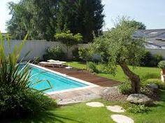 """Résultat de recherche d'images pour """"amenagement jardin et piscine"""""""