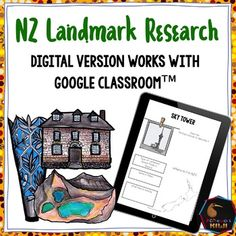 Product Description Studying New Zealand Geography? These research activity helps students learn :- The Māori names of landmarks- The importance of certain Student Learning, Teaching Kids, Teaching Resources, Geography Activities, Digital Literacy, Classroom Environment, Literacy Skills, Google Classroom, Social Studies