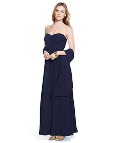 Lauren Ralph Lauren Sweetheart Gown - Dresses - Women - Macy's