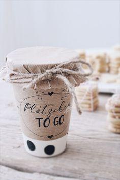 DIY Geschenkidee aus der Küche + Verpackungsidee und Freebie