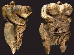 The Venus of Hohle Fels is an Upper Paleolithic Venus figurine dated to between 35 000 and 40 000 years ago, belonging to the early Aurignacian, and is the oldest undisputed example of Upper Paleolithic art and figurative prehistoric art in general Photo: H. Jensen. © Universität Tübingen