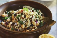 Crunchy-Sweet Quinoa Couscous with Fresh Herbs