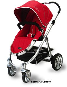 My Stroller - Stroll Air Zoom. Comes with bassinet and so many other amazing accessories.