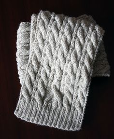 { jenn maple handmade }: awareness ribbon scarf - free knitting pattern