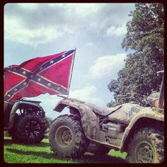 This is my flag and ill fly it high. Got a problem? Take it up with my fists, and my guns. ;)