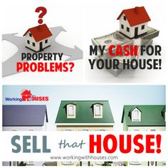 Property problems?  Sell fast no commissions! My Cash for your house! Sell that house!  #WeBuyHouses #RealEstate