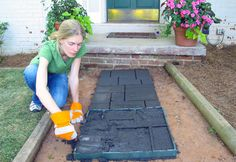 Quikrete Walk Maker Will Have You Laying Pavers Like a Pro- step by step tutorial using paver mold