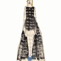Haute Couture Dior drawings by Charles Jeffrey | Buro 24/7