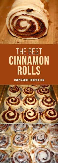 The BEST cinnamon ro The BEST cinnamon roll recipe! The BEST cinnamon ro The BEST cinnamon roll recipe! They are PERFECT! They are great for breakfast brunch and holiday Best Cinnamon Roll Recipe, Best Cinnamon Rolls, Cinnamon Recipes, Baking Recipes, Dessert Recipes, Breakfast Recipes, Cinnamon Desserts, Donut Recipes, Baking Ideas