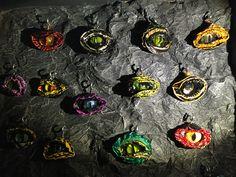 Occhi di drago con le cialde del caffè