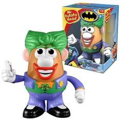 Joker Mr Potato Head Figure
