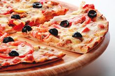 Gluten-Free Olive and Cheese Cold Pizza