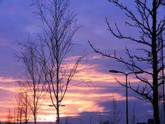 Januari hemelsblauw