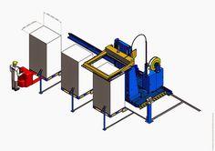 2910 Flejadora automática horizontal con desplazamiento lateral