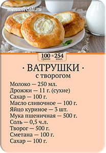 Spring Card Set - Magnetic Cards - Cheesecake recipe card with cottage cheese - Russian Desserts, Russian Recipes, Pastry Recipes, Baking Recipes, Russian Pastries, Breakfast Recipes, Dessert Recipes, Best Comfort Food, Seafood Dishes