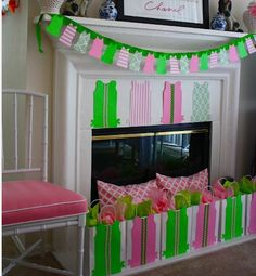 The Pelican Girls love the idea of a lovely Lilly Birthday Party or baby shower.