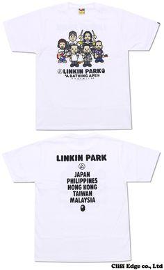 【楽天市場】A BATHING APE LINKIN PARK(リンキンパーク) MILO LINKIN PARK TEE[Tシャツ] 200-005568-040[2073-110-955]- 【新品】【smtb-TD】【yokohama】:Cliff Edge