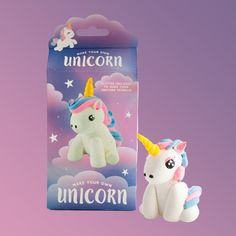 Includes 5 Coloured Doughs, Modelling Tool, Glitter & Instructions To Make Your Own Magical Glittery Unicorn! Comes Beautifully Packaged To Impress The Unicorn Lover In Your Life. Gift Packaging, Packaging Design, Yellow Octopus, Make Your Own, How To Make, Cool Things To Make, Gifts For Kids, Create Yourself, Unicorn