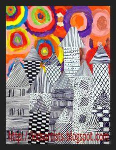 pattern and kandinsky