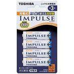 東芝 充電池(単3形4本入)「充電式IMPULSE」 TNH−3A 4Pの最安値