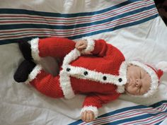 Santa suit by oma112 on Etsy