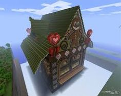 Cool minecraft gingerbread house