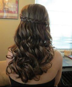 Homecoming hair (: