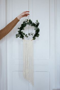 #Wreath 13 ideas para dar un toque verde a tu casa