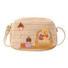 Disney Store Japan Update: New Winnie the Pooh Merchandise 🍯 Girly Backpacks, Cute Mini Backpacks, Winnie The Pooh Nursery, Winne The Pooh, Disney Dorm, Baby Disney, Disney Store Japan, Disney Purse, Sacs Design
